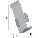 Slat Spårpanel Mobilhållare