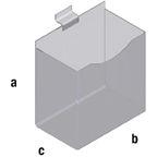 Slat Spårpanel Plexilåda
