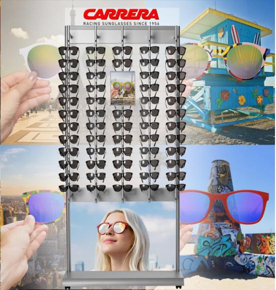 Glasögonställ med hjul för solglasögon a8c9638b68dfb