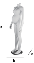 Colonne MAMAN gravid skyltdocka