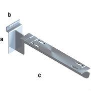 Slat Spårpanel Fäste L290 mm