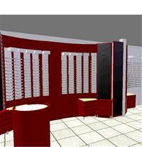 Optikinredning Böjda väggar